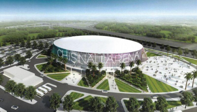 """Спорткомплекс """"Arena Chişinău"""" откроют к 1 мая"""