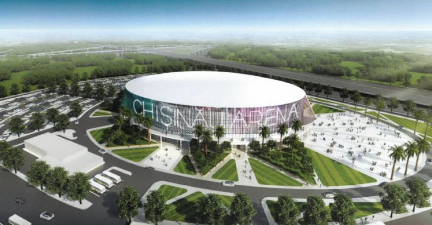 """Sports complex """"Arena Chişinău"""" will open by May 1"""
