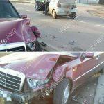Два автомобиля столкнулись в Парканах: госпитализированы двое пострадавших