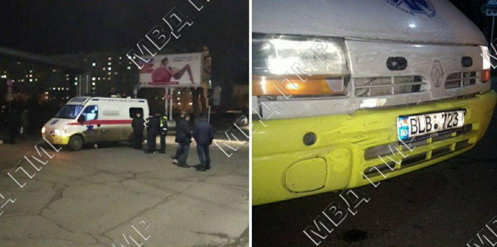 В Тирасполе машина скорой помощи столкнулась с Audi
