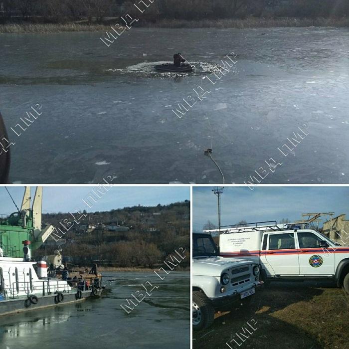 Трагедия на Днестре: рыбак провалился под лёд и утонул