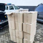 Таможенная служба задержала партию контрабандных сигарет почти на 200 000 леев (ФОТО)