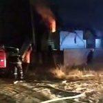 В Бельцах сгорел частный дом (ВИДЕО)