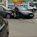 В День влюблённых в столице «поцеловались» два авто (ВИДЕО)