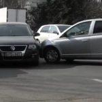 Два автовладельца не поделили перекрёсток на Ботанике (ВИДЕО)