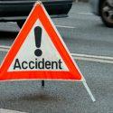 Два автовладельца не смогли поделить перекрёсток (ВИДЕО)