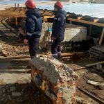 Спасатели устраняли последствия штормового ветра по всей стране (ФОТО)
