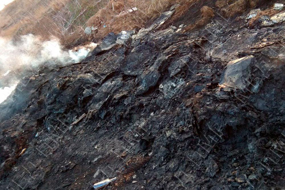 В Бендерах пожарные потушили загоревшуюся свалку (ФОТО)