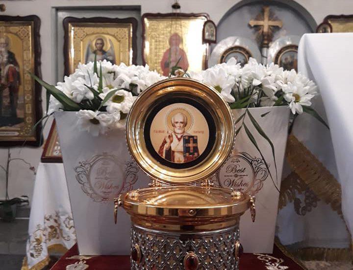 В столицу привезли мощи Святого Николая