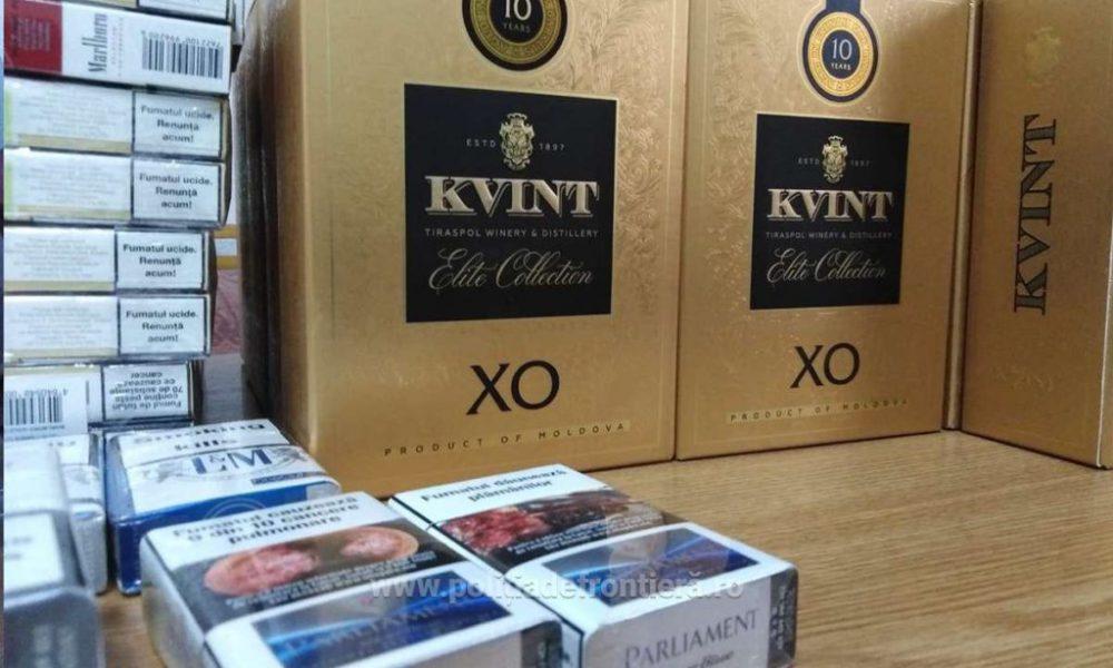 Молдаванин перевозил во Францию контрабандные сигареты и алкоголь (ФОТО)