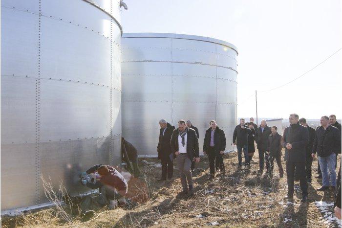 Ион Кику изучил проблему водоснабжения населённых пунктов в пойме Прута (ФОТО)