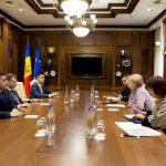 Гречаный провела встречу с послом Азербайджана