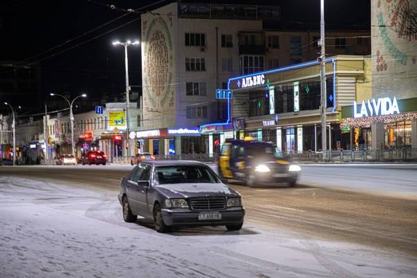 Выпавший снег стал причиной десяти ДТП в Приднестровье