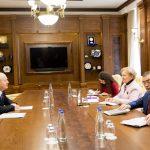 Спикер провела встречу с председателем Совета по конкуренции