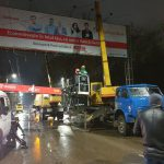 Столичные власти продолжают очищать город от незаконной рекламы (ФОТО, ВИДЕО)