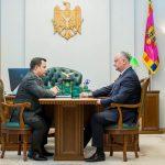 Президент провёл встречу с директором СИБ