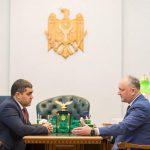 Игорь Додон провёл встречу с председателем Народного собрания Гагаузии (ФОТО, ВИДЕО)