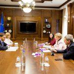Гречаный встретилась с председателем Совета по предупреждению и ликвидации дискриминации