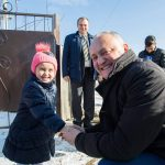 Игорь Додон навестил несколько многодетных семей в Хынчештском районе (ФОТО)