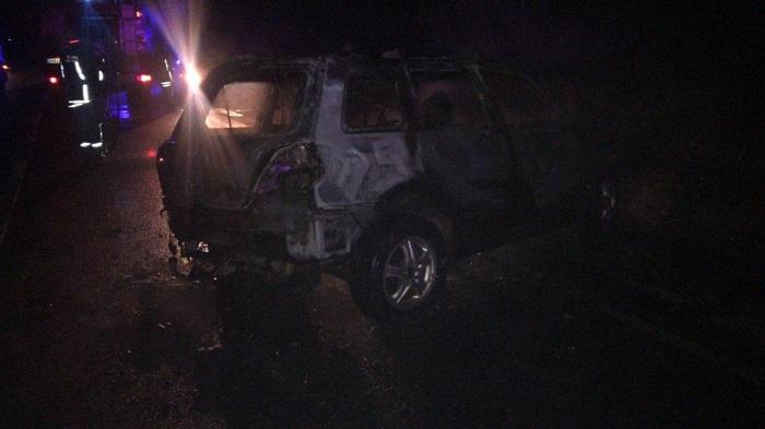 Ужасное ДТП на трассе Кишинёв-Унгены: полицейский сгорел заживо в машине