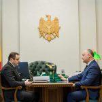 Президент призвал главу АО «Молдовагаз» найти резервы для снижения тарифов (ФОТО, ВИДЕО)