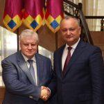 Президент поздравил председателя «Справедливой России» с днем рождения