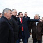 Президент совершает визит в Дубоссарский район (ФОТО)