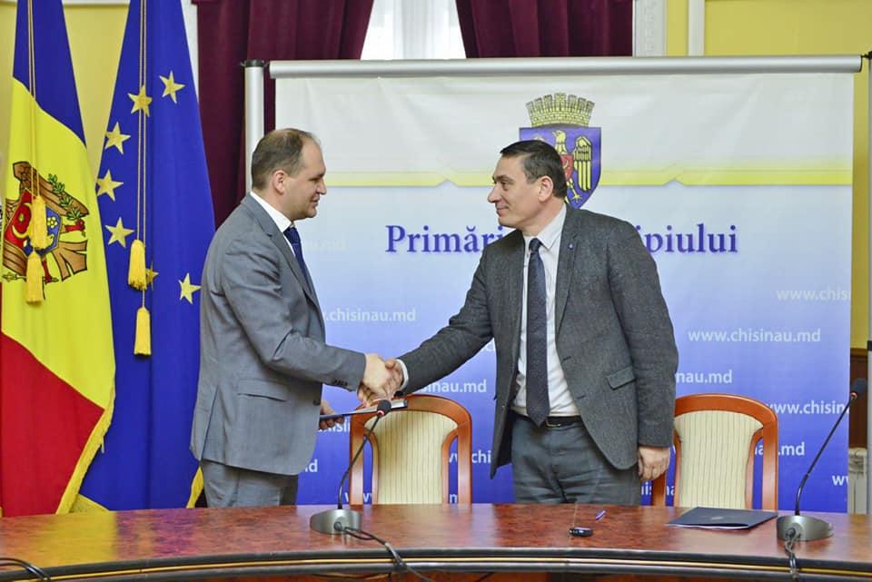 Примария Кишинева и Торгово-промышленная палата подписали соглашение о сотрудничестве (ФОТО)