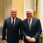 Встреча Додон - Штайнмайер: о чем говорили президенты Молдовы и Германии