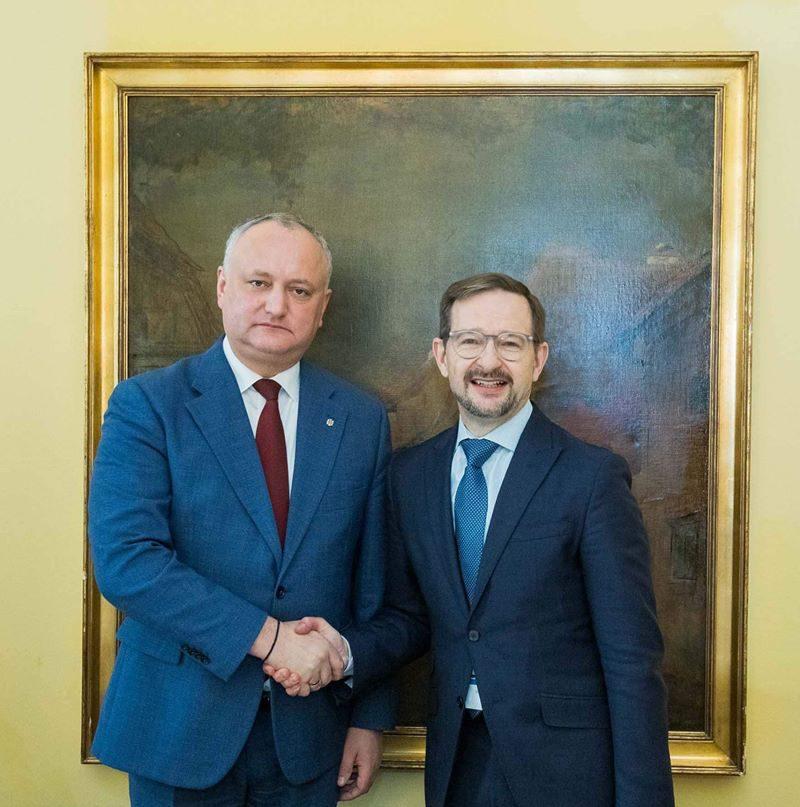 Президент провел встречу с генсеком ОБСЕ (ФОТО, ВИДЕО)