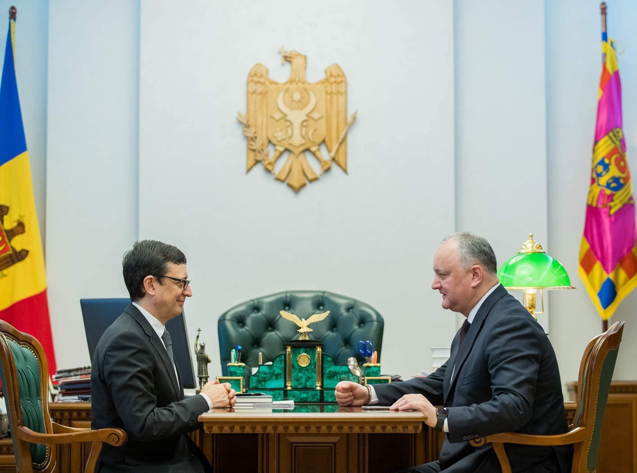Президент обсудил с главой Нацбанка ситуацию в банковском секторе (ФОТО, ВИДЕО)