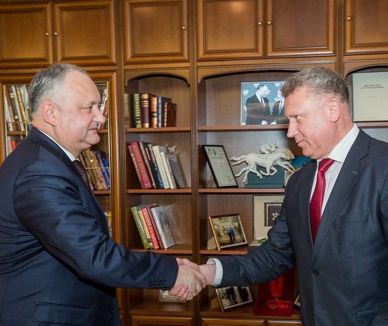 Президент обсудил развитие Унген с председателем этого района (ФОТО, ВИДЕО)