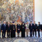 Гречаный встретилась с Верховным Патриархом и Католикосом всех армян (ФОТО)