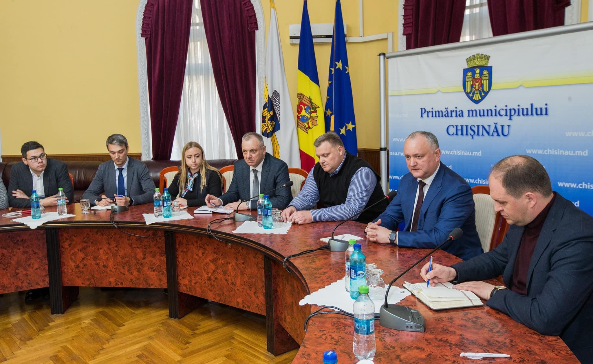 Президент призвал мунсоветников объединить усилия для решения проблем Кишинева (ФОТО, ВИДЕО)