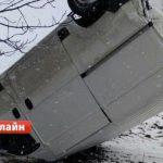 """На трассе """"Бельцы-Дрокия"""" перевернулся автомобиль"""