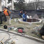 В Кишинёве полным ходом ведутся работы по обустройству сквера в парке «Валя Морилор» (ФОТО)