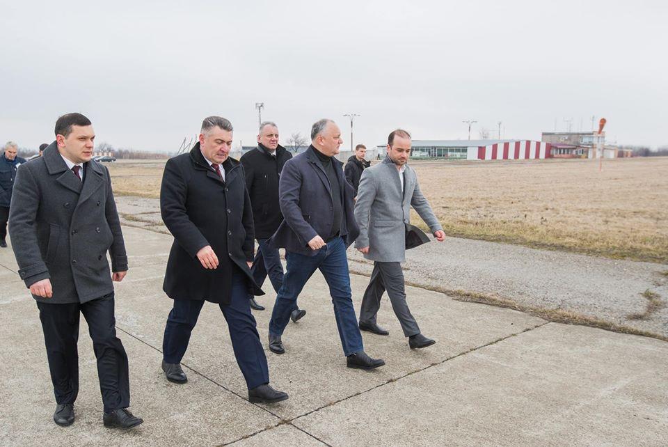 Президент отправился с рабочим визитом в Рышканский и Единецкий районы (ФОТО)