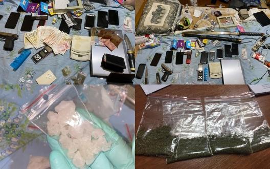 Полиция задержала жителей столицы, продававших наркотики через Telegram (ФОТО, ВИДЕО)