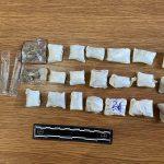 Столичные полицейские задержали с поличным 19-летнего наркозакладчика (ВИДЕО)