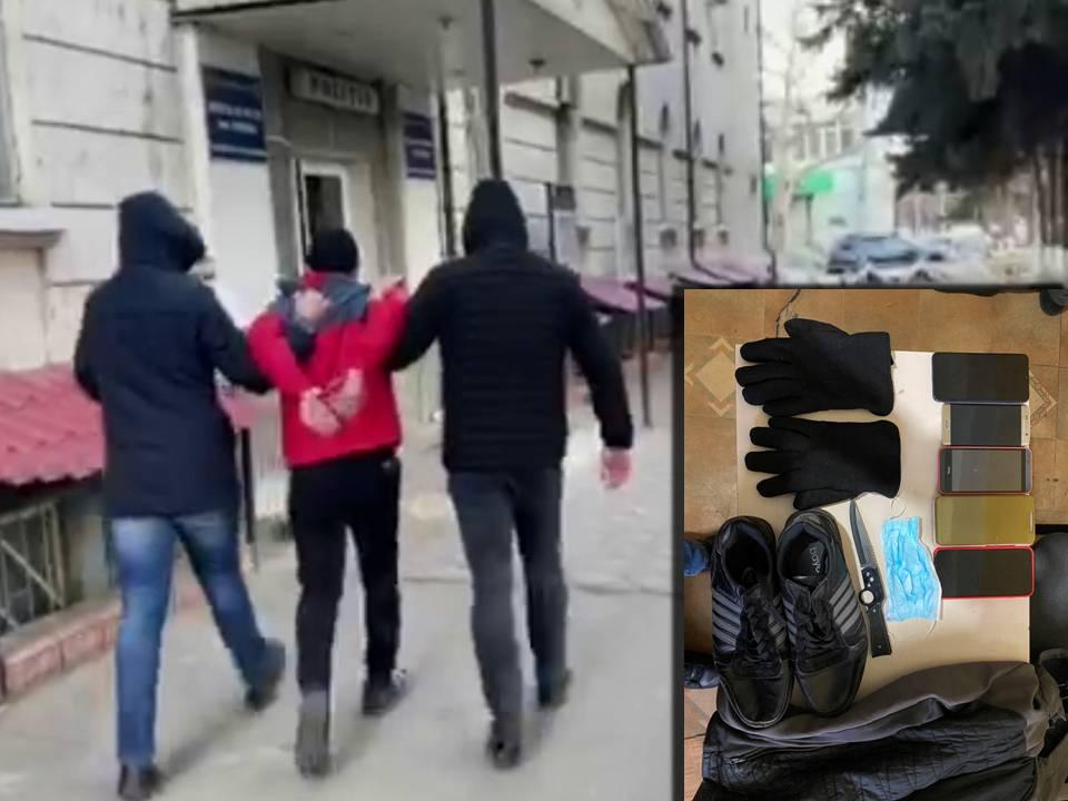 Правоохранители задержали рецидивиста, ограбившего офис кредитной компании (ВИДЕО)