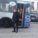 """В Кишинёве троллейбус """"потерял"""" колесо во время движения (ФОТО)"""