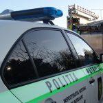 В Кишинёве машина патрульных врезалась в припаркованный на обочине ЗИЛ