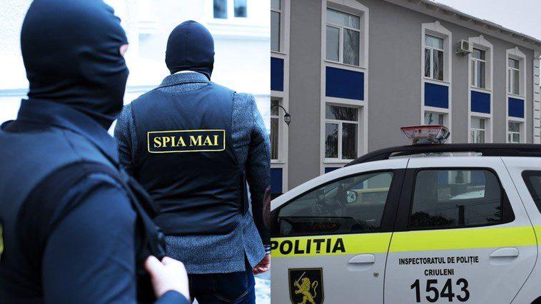 Начальника отдела Инспектората полиции Криулян поймали на контрабанде обуви из Украины