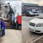 """В одном из столичных секторов эвакуировали несколько """"забытых"""" хозяевами машин"""