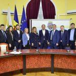 Делегация из Санкт-Петербурга находится с визитом в Кишиневе (ФОТО)