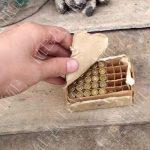 В наследство от отца: мужчина во время уборки дома нашёл боеприпасы