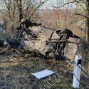 В результате аварии на трассе Тирасполь-Каменка перевернулся автомобиль