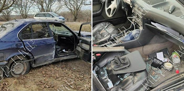 Авария в Приднестровье: пассажирку машины госпитализировали