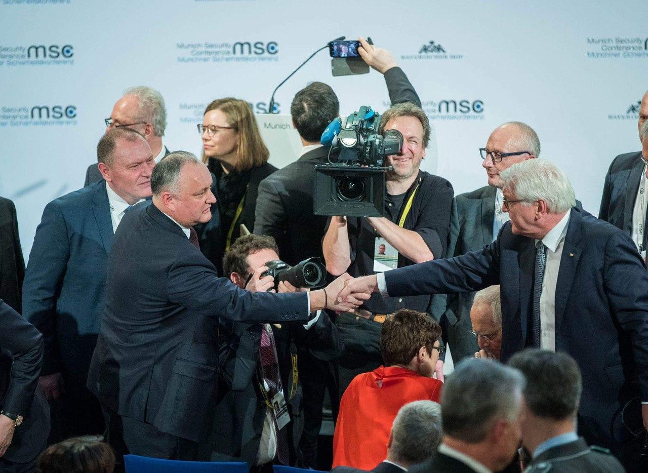 (ФОТО) Президент среди мировых лидеров на Мюнхенской конференции по безопасности