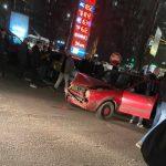 ДТП на Алба-Юлии: водитель на высокой скорости врезался в два автомобиля (ФОТО)